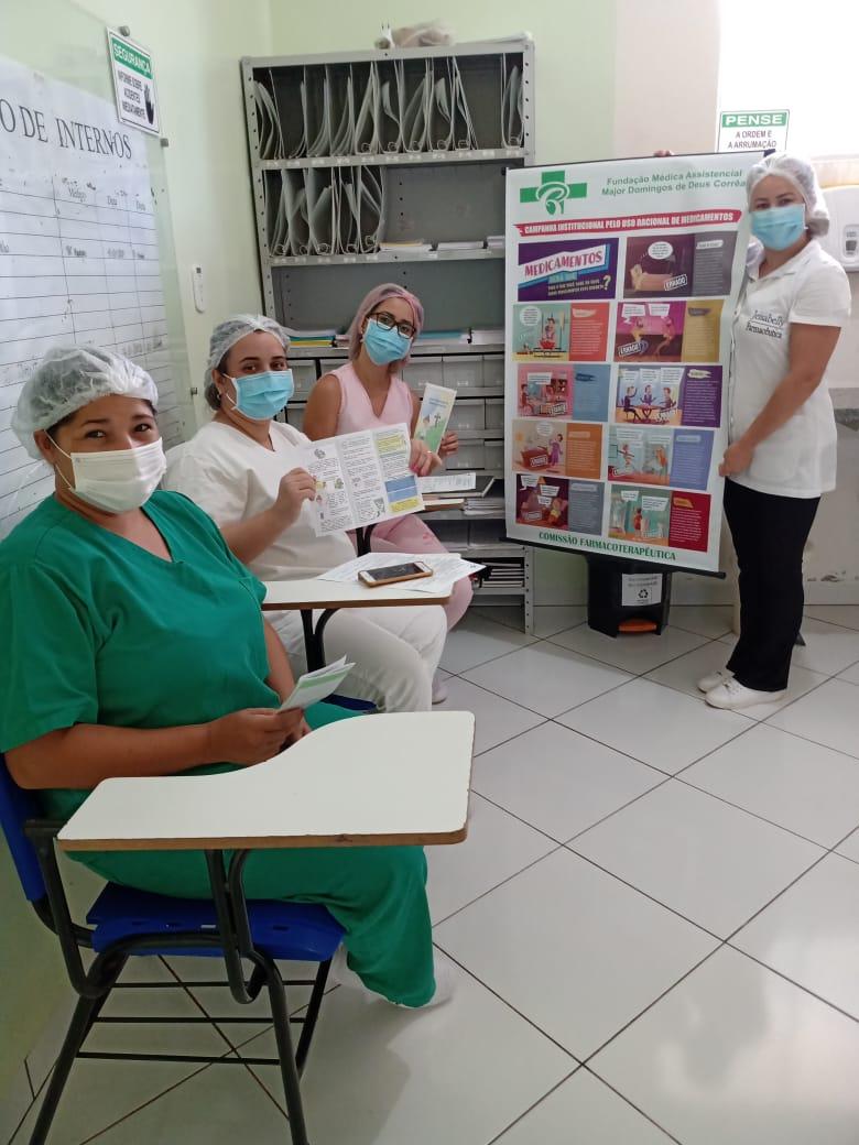 imagem projeto Campanha Institucional pelo Uso racional de medicamentos