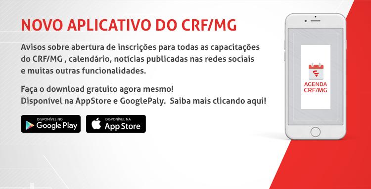 O Agenda CRF/MG permite, entre outras funcionalidades, fazer inscrições para capacitações