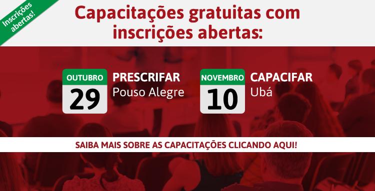 Pouso Alegre e Ubá são as próximas cidades a receberem eventos do CRF/MG