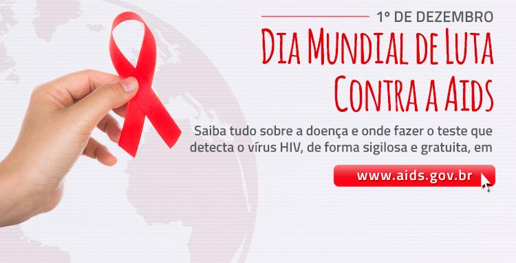 Saiba tudo sobre a doença e onde fazer o teste que detecta o vírus HIV, de forma sigilosa e gratuita, em www.aids.gov.br
