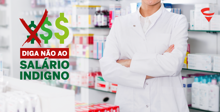 CRF/MG inicia movimento contra empresas e órgãos do Executivo que pagam valores injustos ao farmacêutico