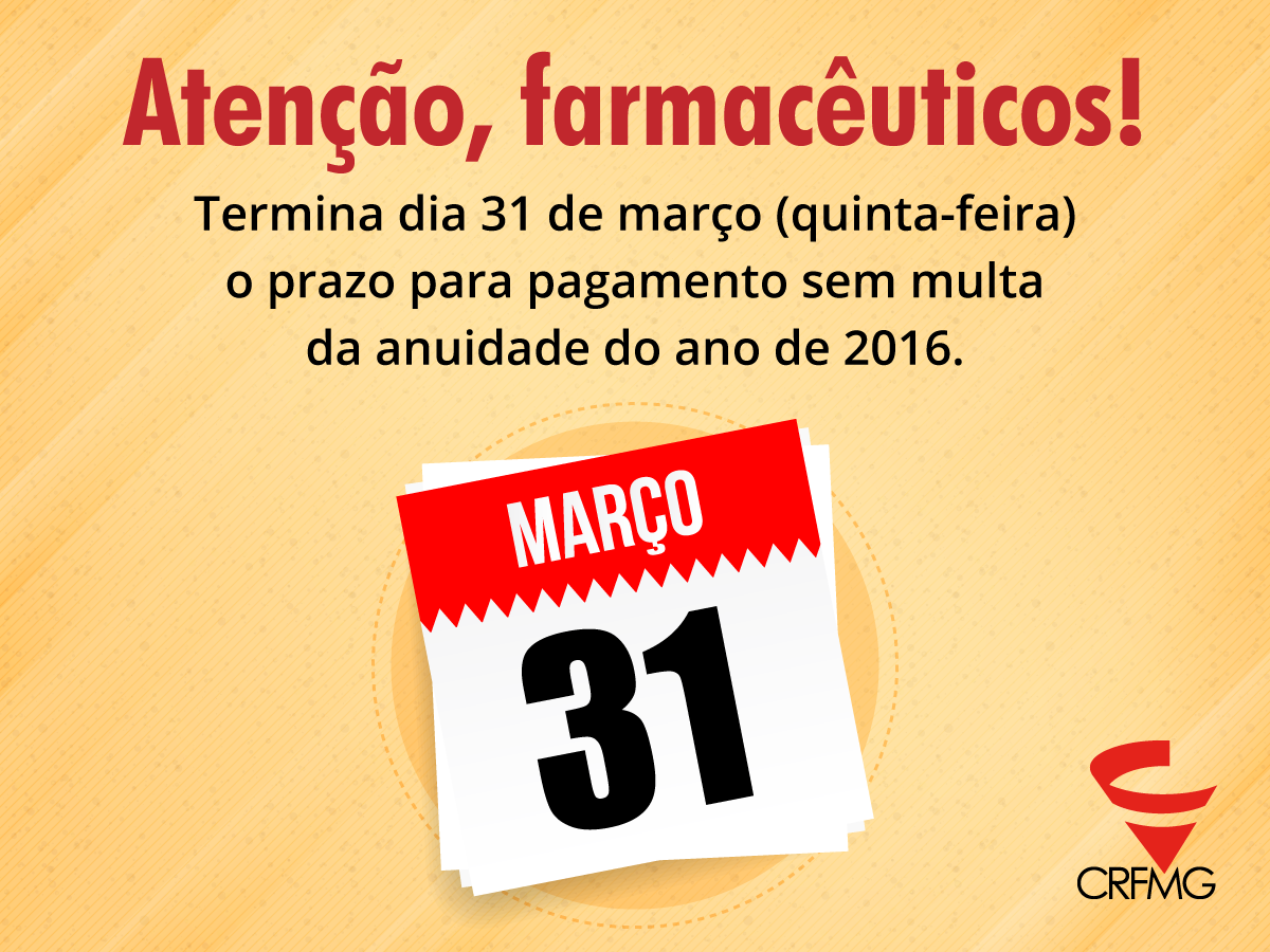 Anuidade tem desconto de 5% até 29 de fevereiro