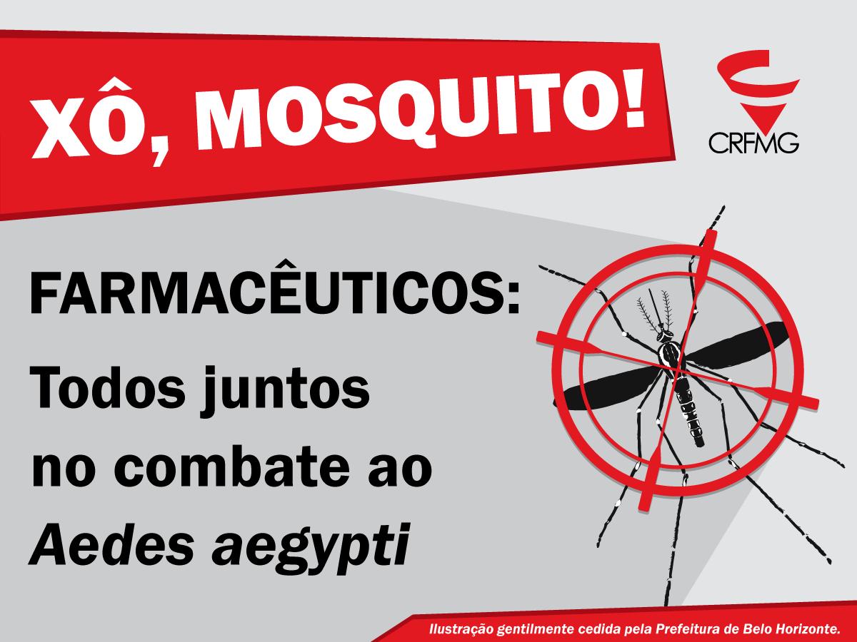 CRF/MG disponibiliza material educativo sobre combate ao Aedes aegypti