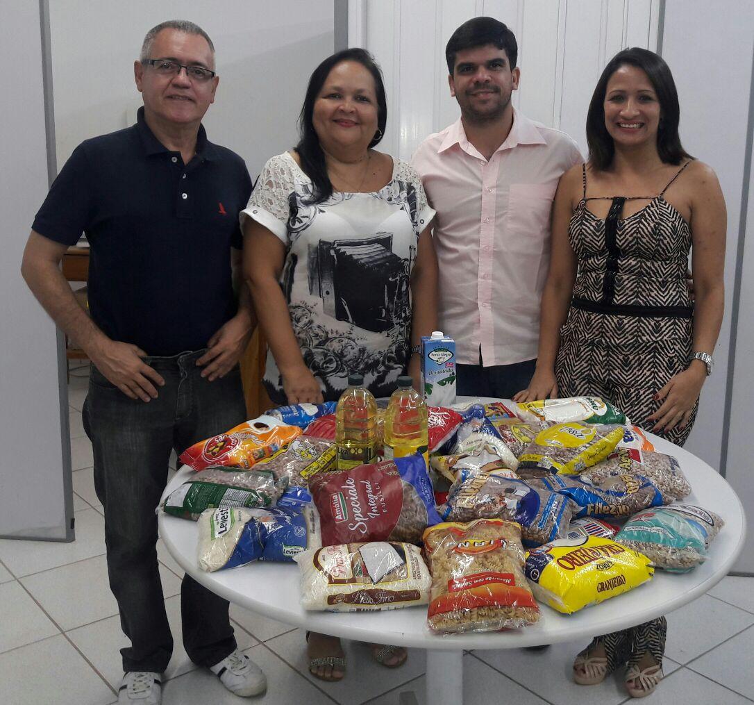 Doações para Secretaria de Assistência Social de Catuji