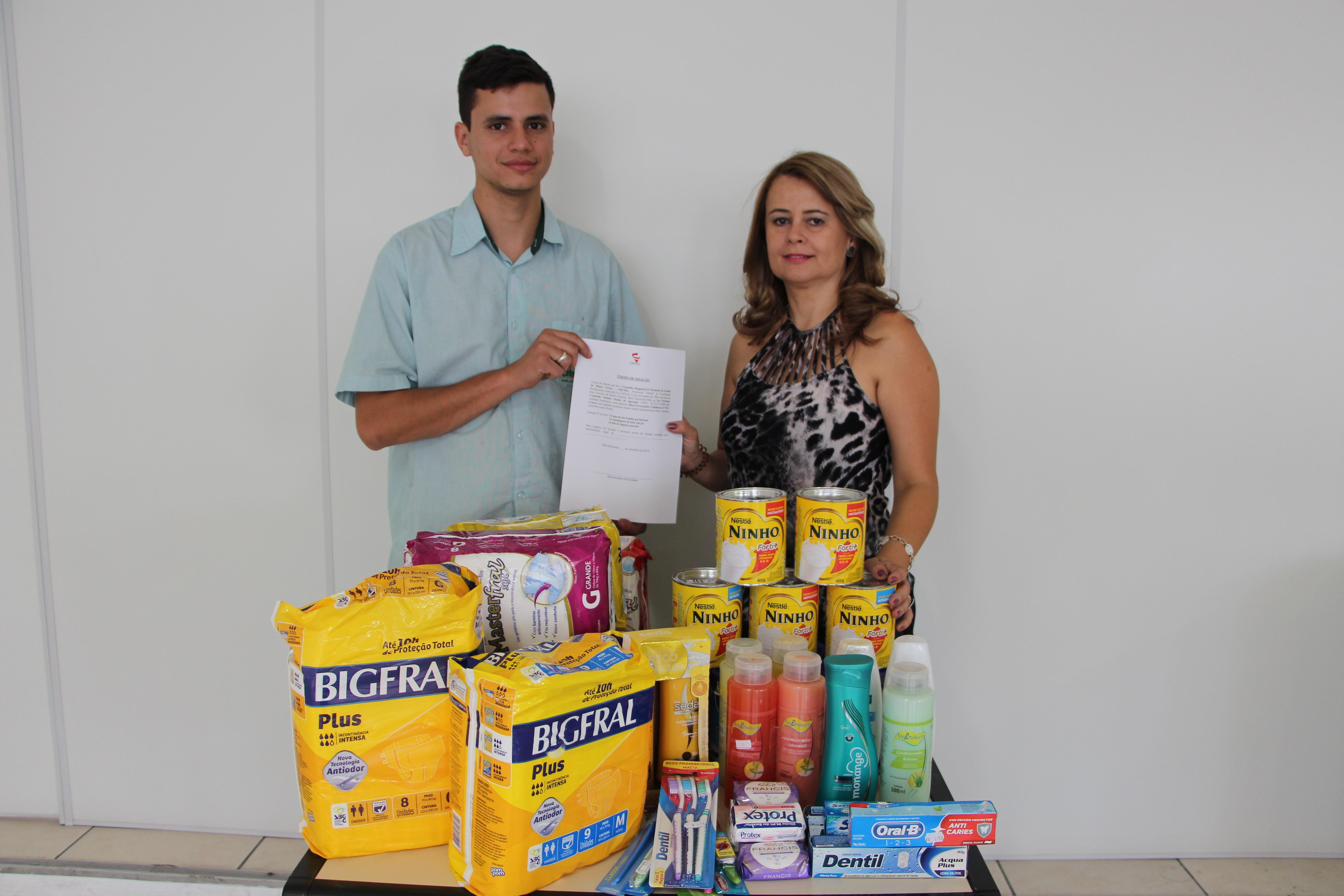 Doações para Lar de Idosos em Betim e Igarapé