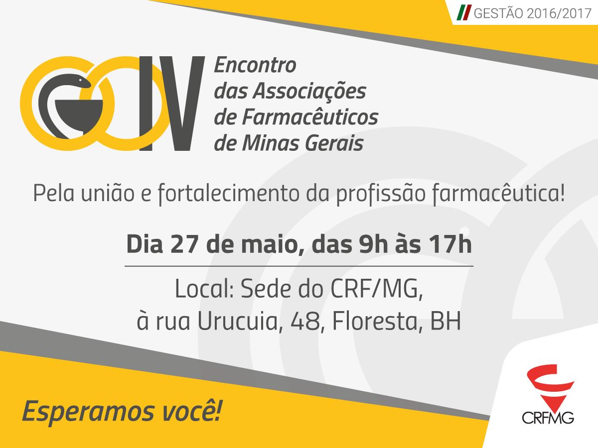 Encontro no CRF/MG vai reunir associações de farmacêuticos de diversas regiões