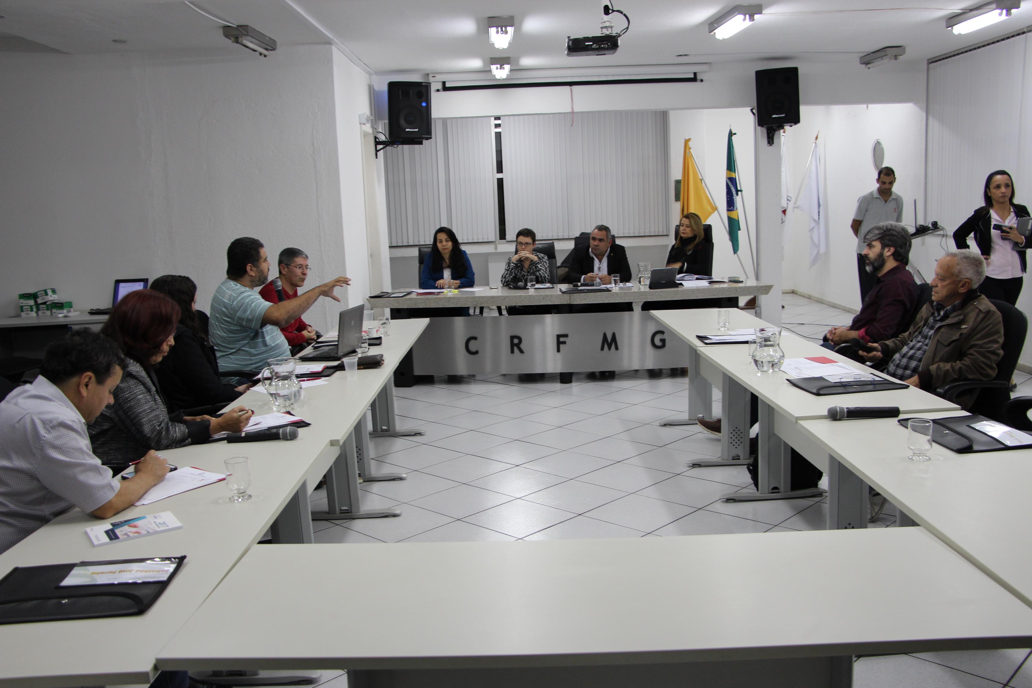 Plenária Extraordinária do CRF/MG debate temas técnicos importantes para a profissão farmacêutica
