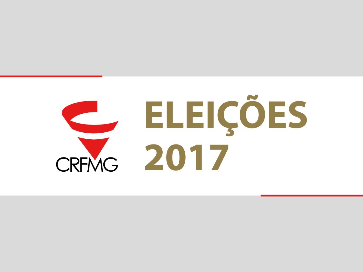 Resultado das eleições 2017 para o CRF/MG
