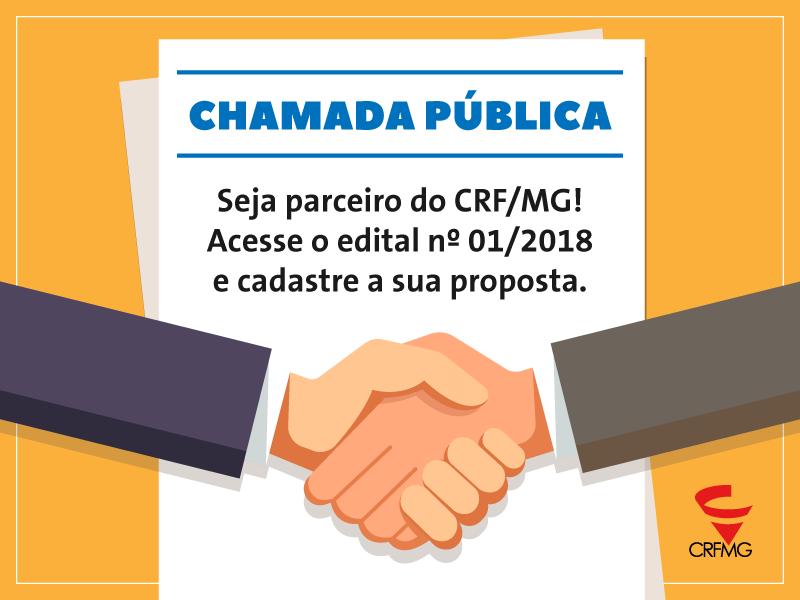 CRF/MG abre edital para credenciamento de parceiros institucionais