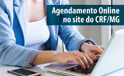 CRF/MG inaugura serviço de agendamento online de serviços