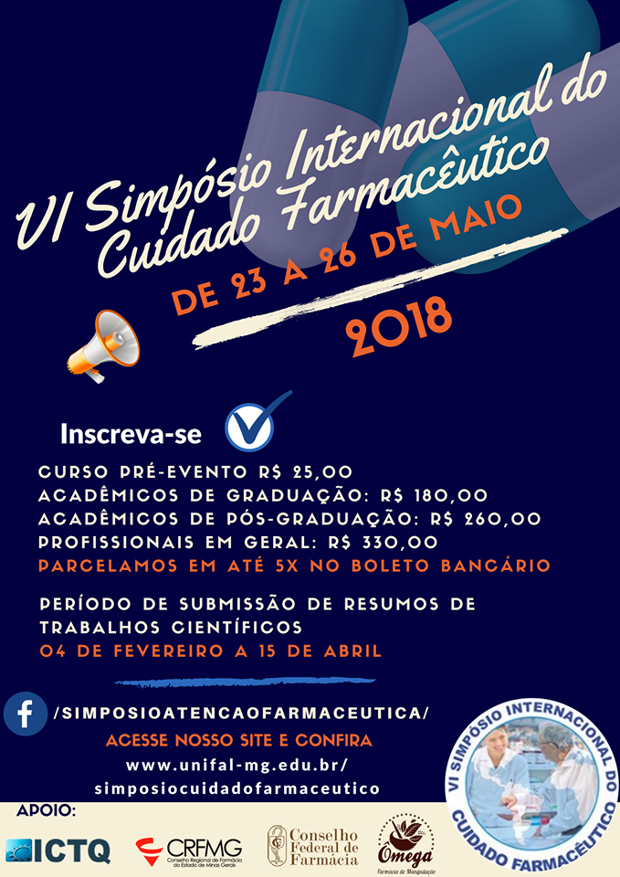 VI Simpósio Internacional do Cuidado Farmacêutico