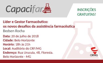 CAPACIFAR: Líder e Gestor Farmacêutico: os novos desafios da assistência farmacêutica em Belo Horizonte
