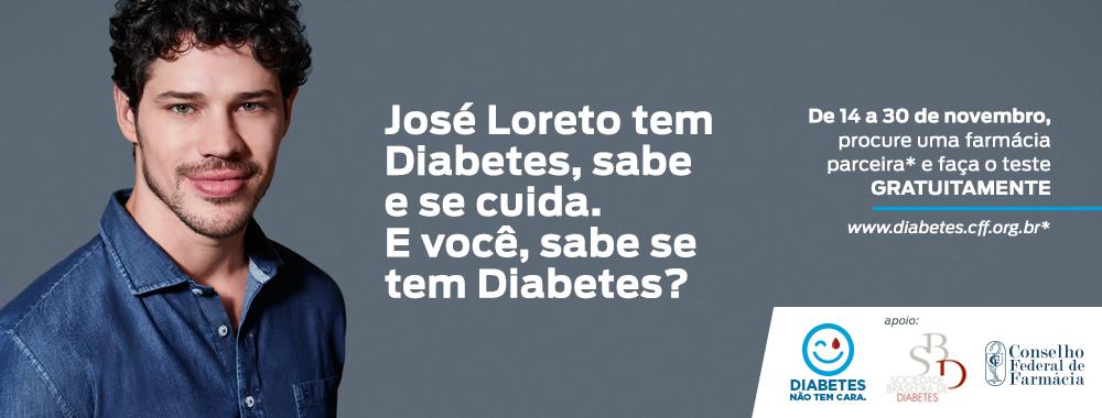Diabetes Não Tem Cara! Faça o Teste
