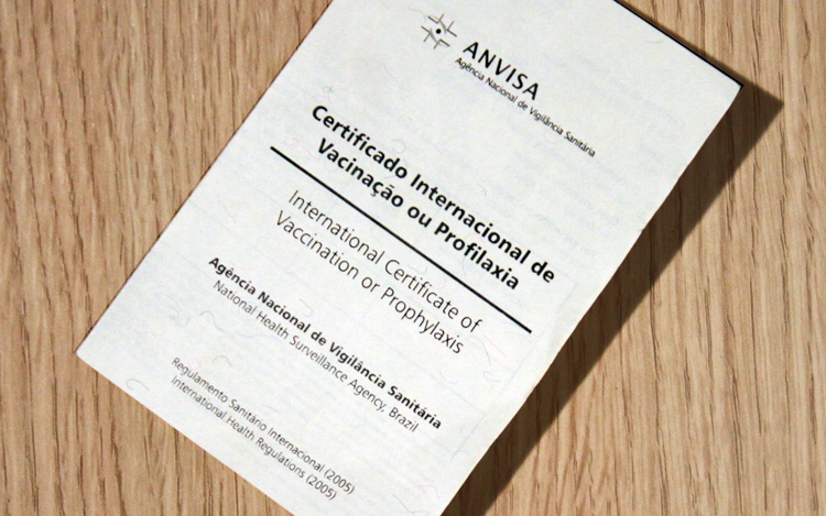 Certificado Internacional de Vacinação já pode ser emitido de forma digital