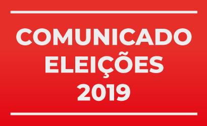 Mensagem da Comissão Eleitoral