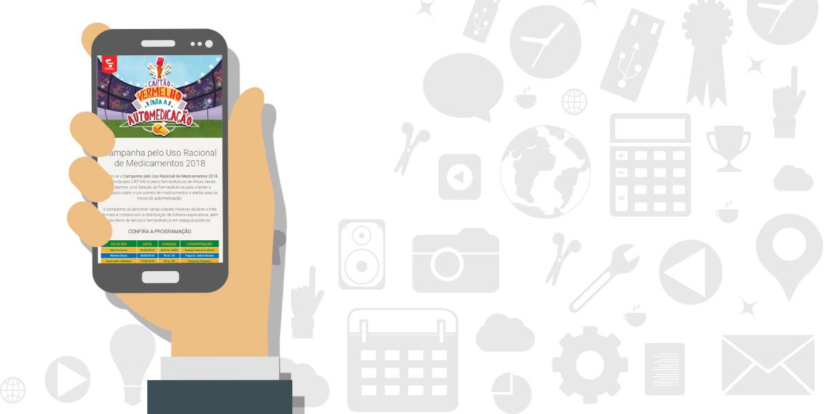 CRF/MG passa a enviar SMS para dar informes rápidos à categoria