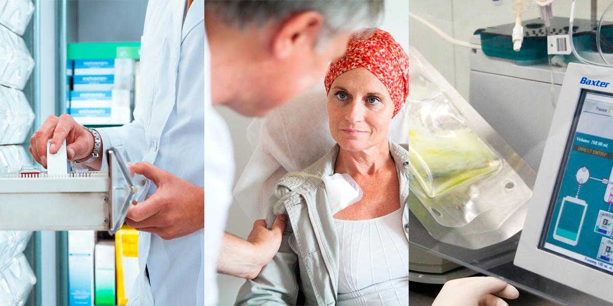 O farmacêutico na Farmácia Hospitalar, Oncologia e Nutrição Clínica